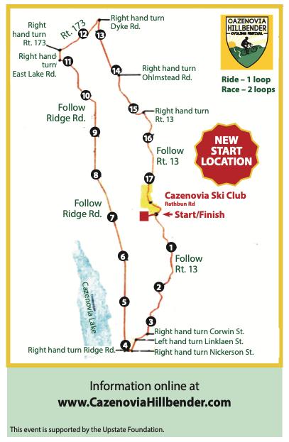 Caz Hillbender Route